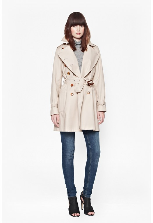 Smart Catch Belted Trench Coat