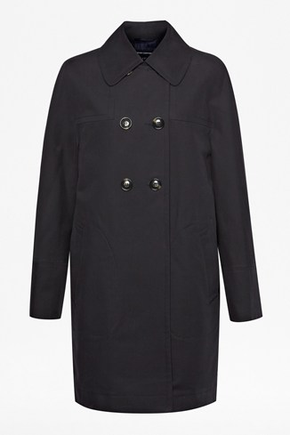 Audrey Cotton Raglan Coat
