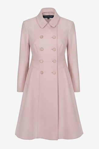 Glorious Wool Flared Coat