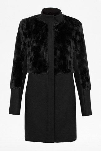 Ali Faux Fur Coat