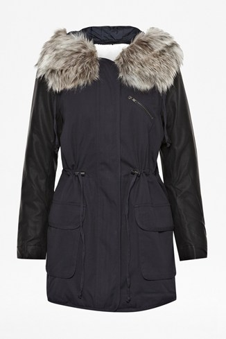 Snow Rhumba Hooded Parka Coat