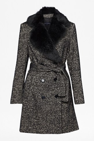 Winterful Wool Trench Coat