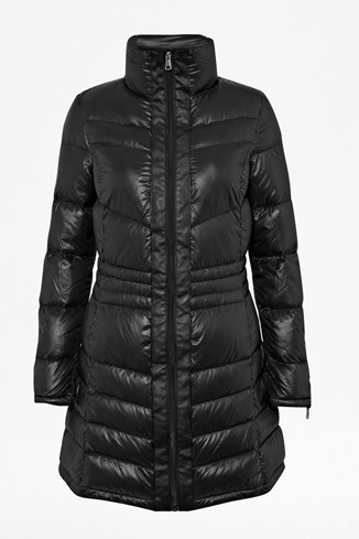 Fishtail Hem Down Coat