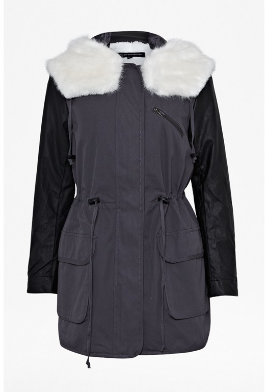 Rhumba Faux Fur Parka Coat