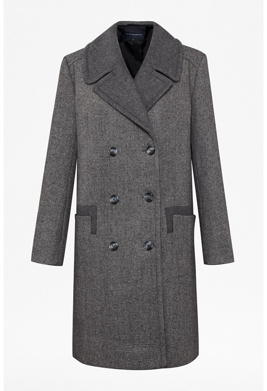 Benjamin Wool Double-Breasted Coat