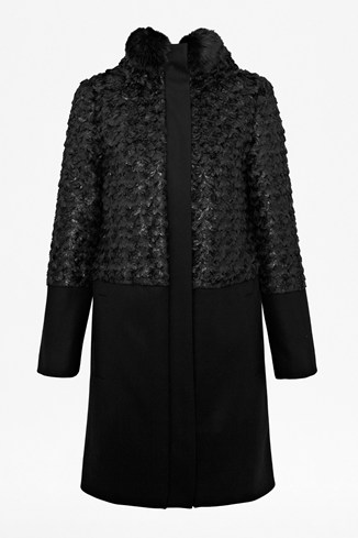 Rosie Faux Fur Coat
