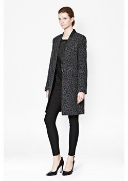 Teddy Printed Coat