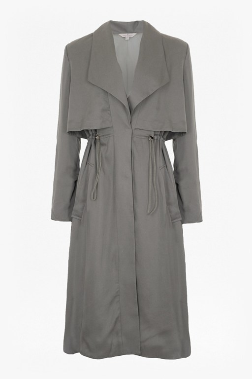 Complete the Look Kruger Tencel Oversized Trench Coat