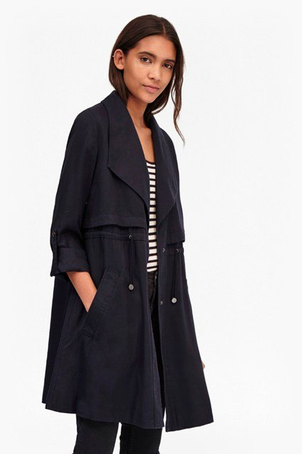 Kruger Short Trench Coat