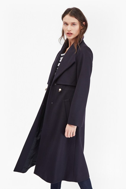 Runaway Wool Long Coat