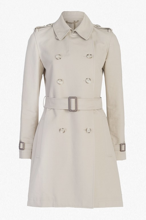 Complete the Look Freeway Cotton Belted Trench Coat