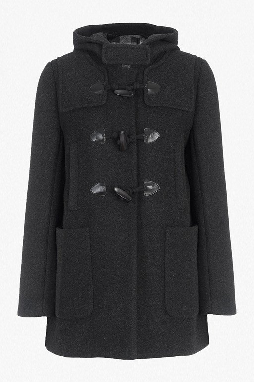 Complete the Look Teddy Check Hooded Duffel Coat