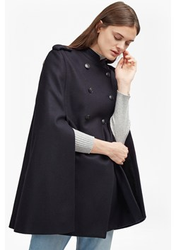 Platform Felt Double Breast Cape