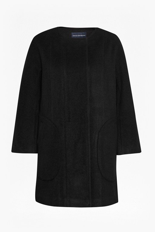Complete the Look Harbour Coating Cocoon Coat