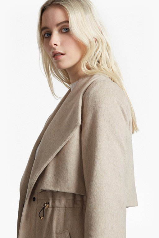 Complete the Look Runaway Wool Short Coat