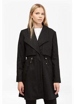 Runaway Wool Drawstring Detail Coat