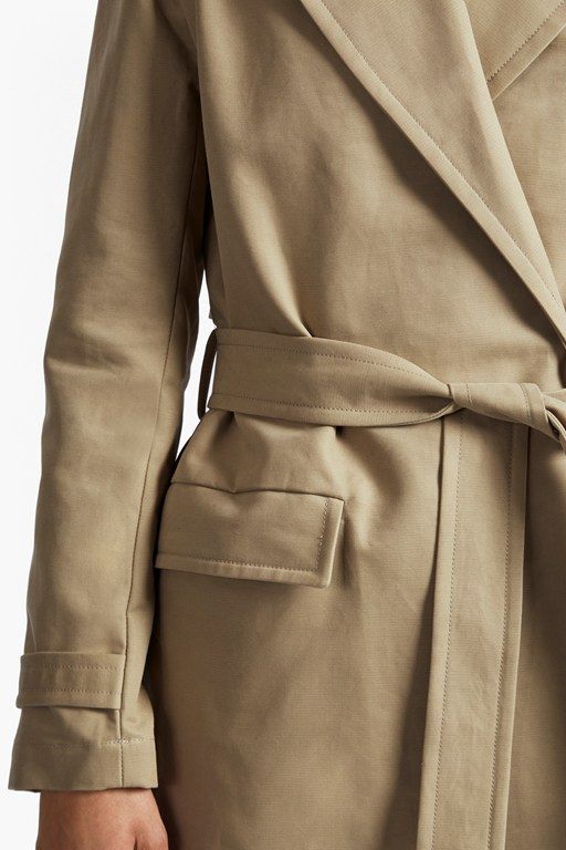 Complete the Look Lesley Cotton Oversized Trench Coat