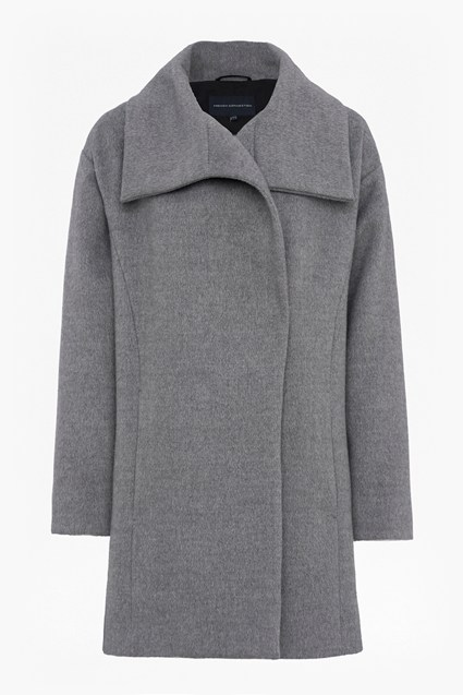 Bennie Wide Collar Coat