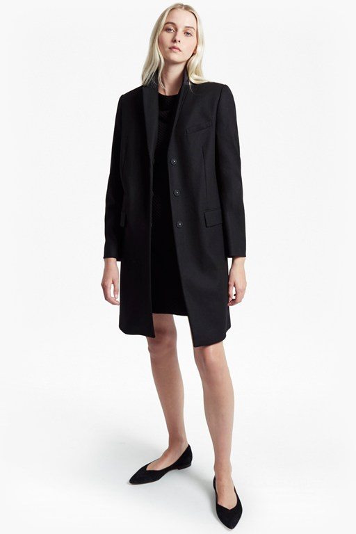 Complete the Look Platform Smart Fit Felt Coat