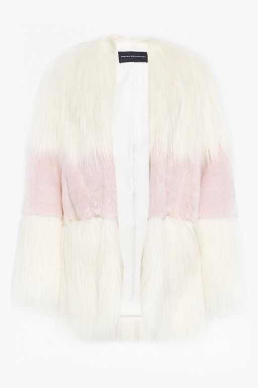 Complete the Look Melinda Mix Faux Fur Coat