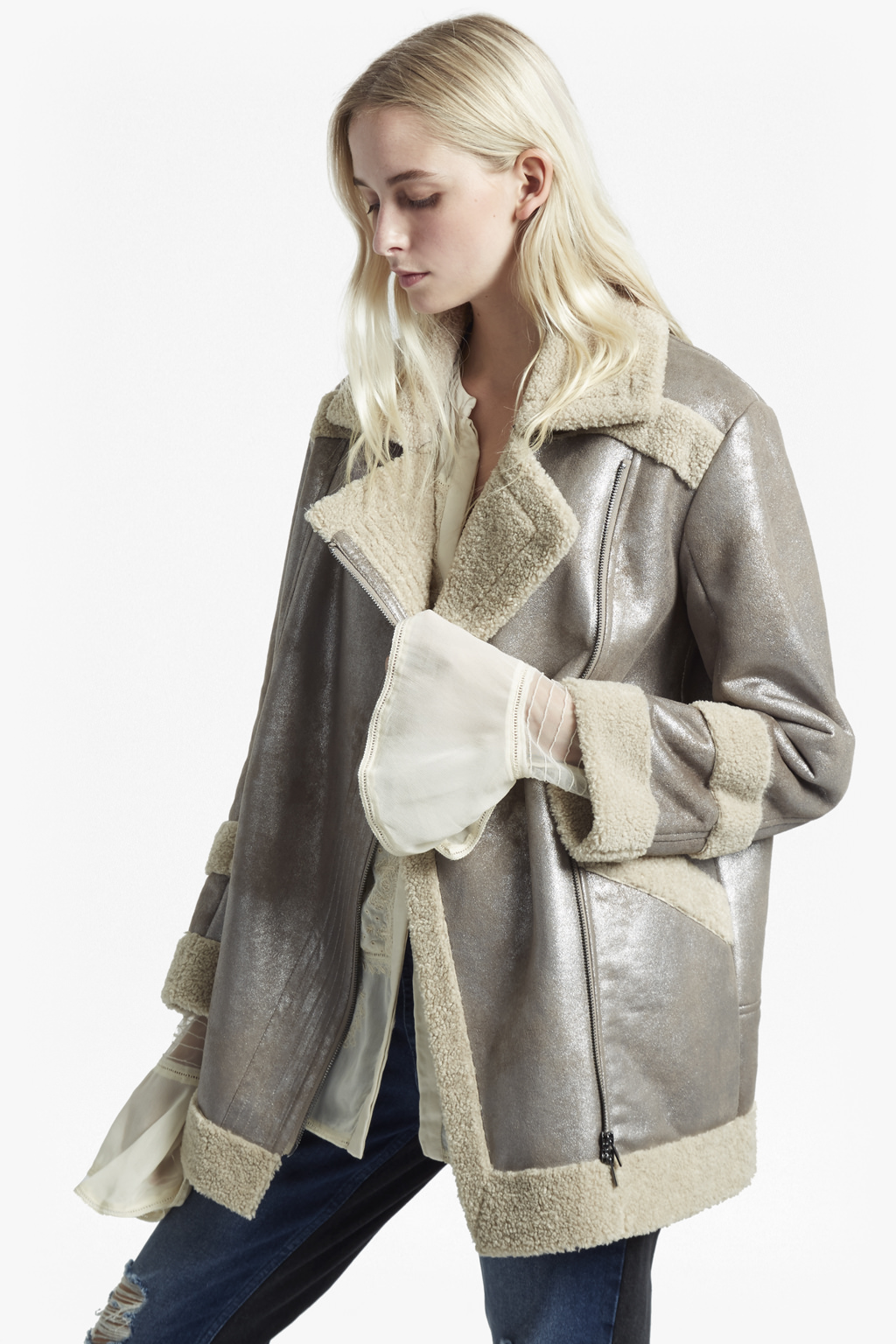 How to clean the sheepskin coat at home