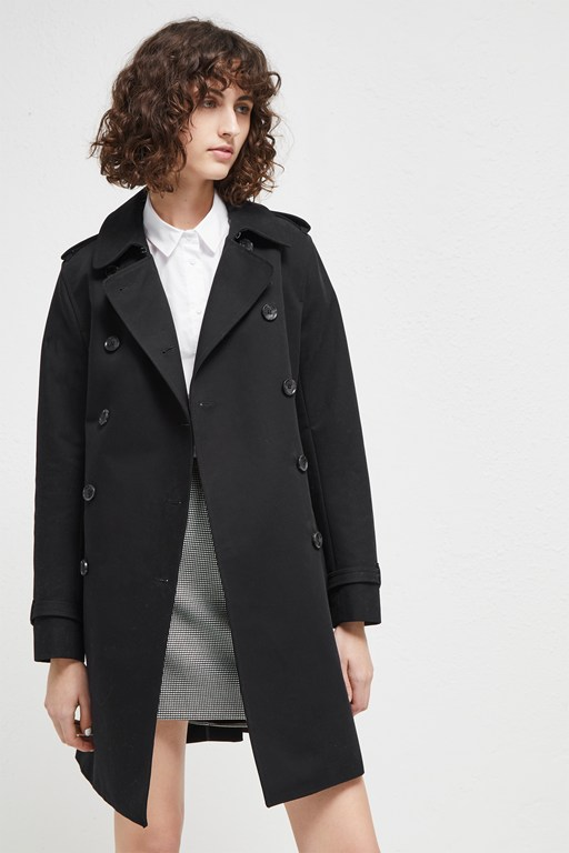 freeway cotton belted coat