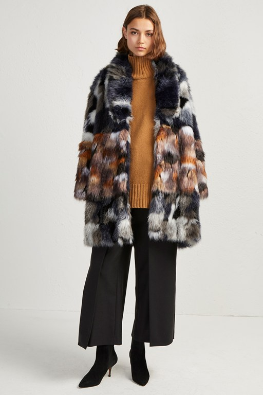 Complete the Look Golda Faux Fur Coat