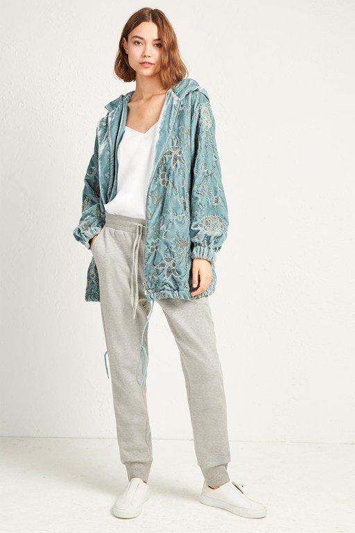 beryl embellished sequin jacket