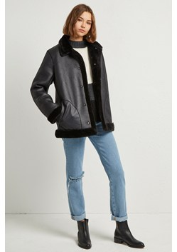 Louie Faux Shearling Reversible Coat