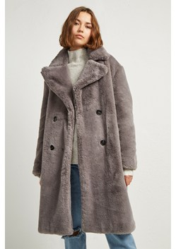 Annie Faux Shearling Coat