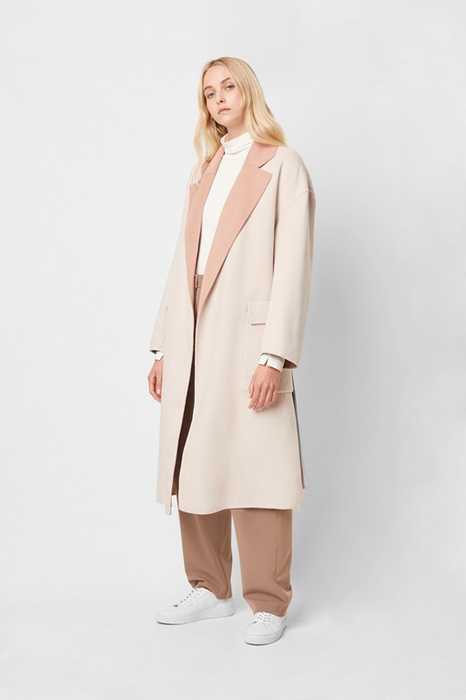 daralice wool belted coat