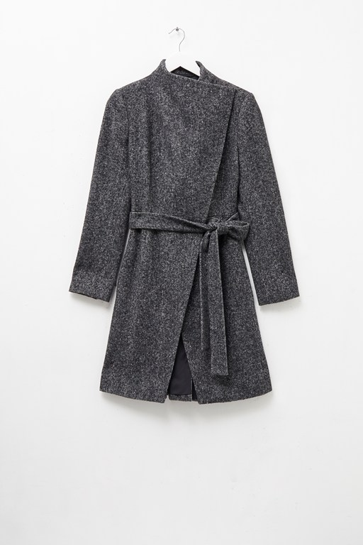 bella rossa ceri tweed coat