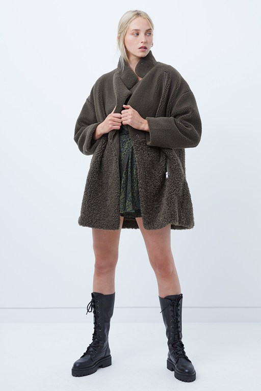 irenea faux fur coat