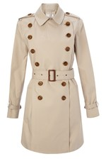 Looks Great With Smart Catch Belted Trench Coat