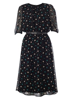 Winter Ditsy Floral Dress