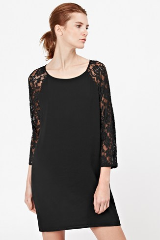 Midnight Rose Tunic Dress