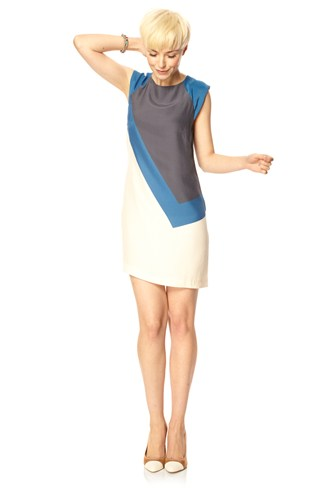 Bric A Block Tunic Dress