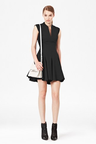 Dash Tailored Flared Dress