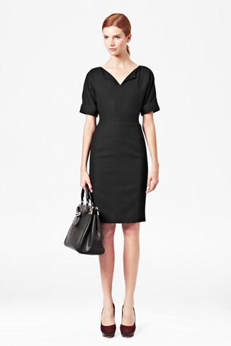 Jesi Stretch V-Neck Dress