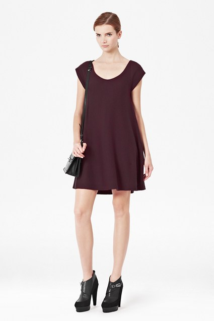 Swing Knitted Flared Dress