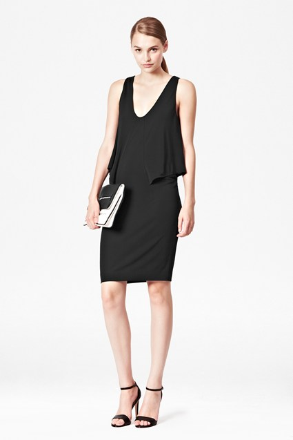 Mona Crepe Jersey Dress