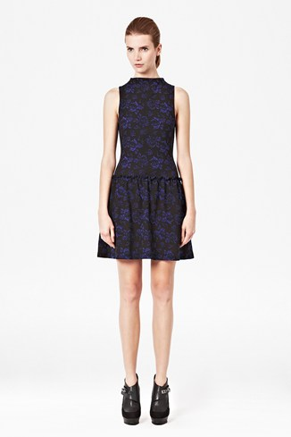 Blousy Bloom Jersey Dress