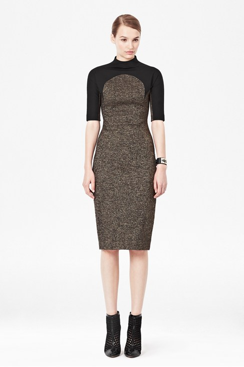 Strata Stretch Jersey Dress