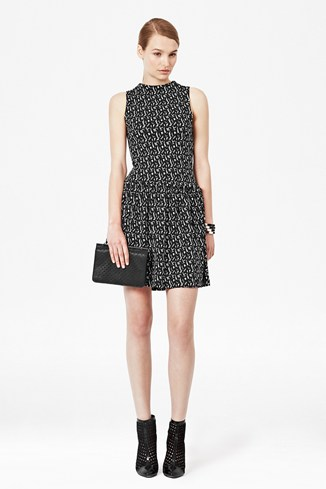 Mini Valentine Brushstrokes Dress