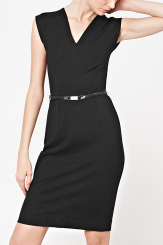 Classic Marie Cap Sleeved Dress