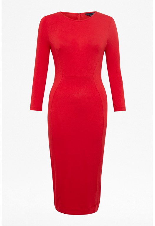 Hattie Sweetheart Midi Dress