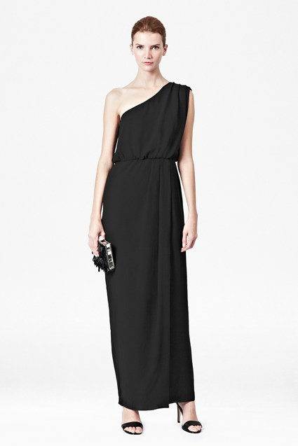 Monica One Shoulder Maxi Dress