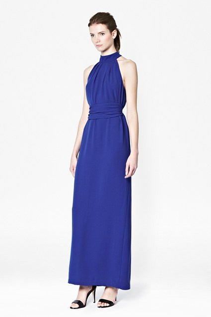 Mandy Halterneck Maxi Dress