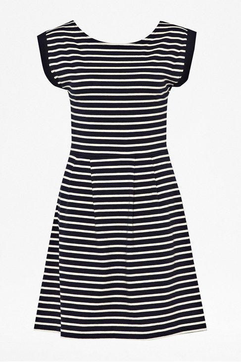 County Cotton Stripe Dress