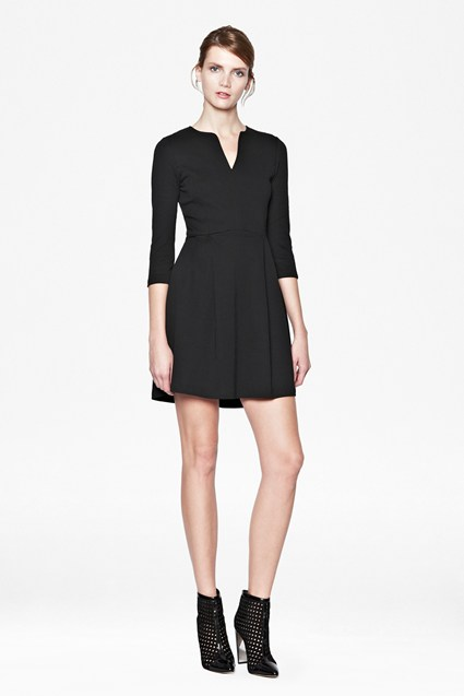Edie Cotton Fit And Flare Dress